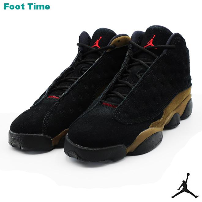 198f61afe4a Nike Air Jordan 13 nostalgic GS NIKE AIR JORDAN 13 RETRO GS black / gym red  ...