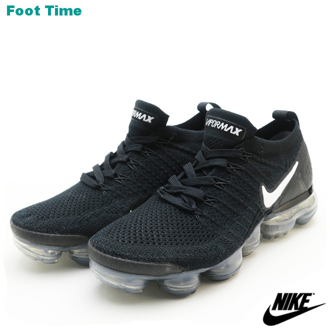 finest selection d1738 2da49 Women Nike air vapor max fried food knit 2 WMNS NIKE AIR VAPORMAX FLYKNIT 2  Lady's sneakers black / white - dark gray - metallic silver BLACK/ ...