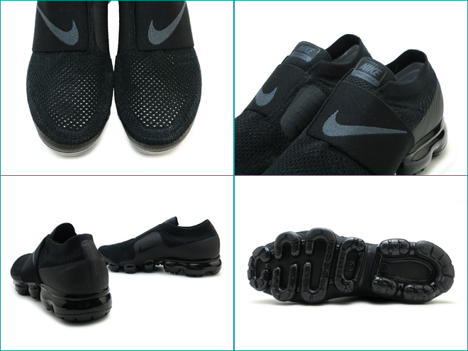 9a9036f14df ... nike air vapor max fried food knit mock nike air vapormax flyknit moc  black black anthracite