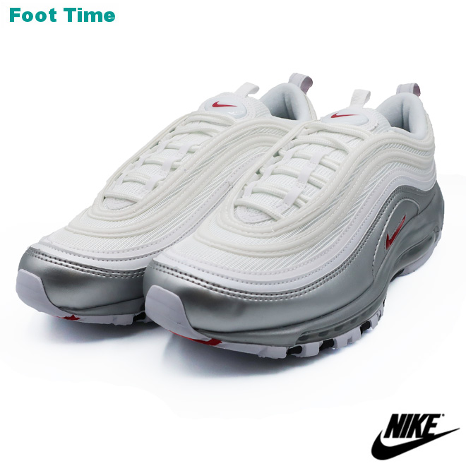 Kie Ney AMAX 97 QS NIKE AIR MAX 97 QS men sneakers white / bar city red  WHITE/VARSITY RED AT5458,100