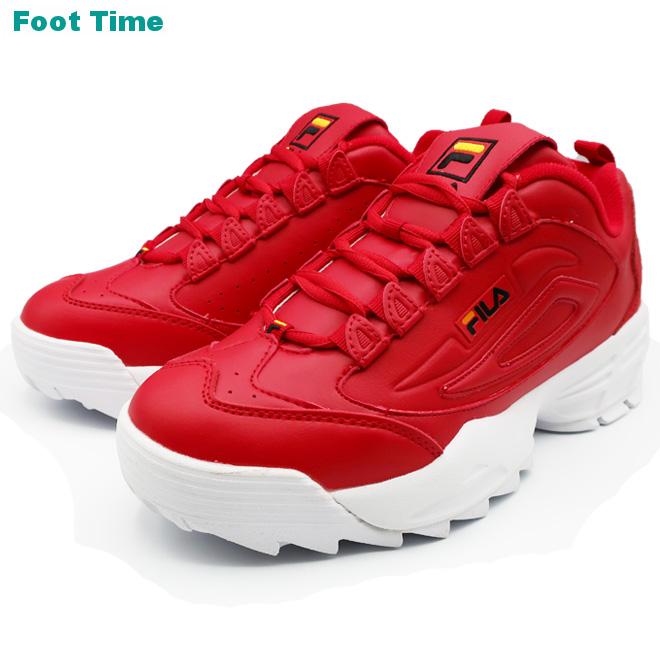 FILA DISRUPTER 3 フィラ ディスラプター 3 FRED/BLK/GFUS レッド/ブラック 1FM00424-606 靴 メンズ靴 スニーカー