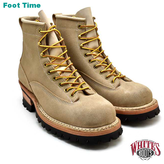 ホワイツ ホワイツブーツ スモークジャンパー デザードサンド ラフアウト メンズ ブーツ ワークブーツ White's Boots Smoke Jumper 350BVROLTT Desert Sand vibram #100