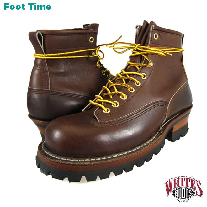 ホワイツ ホワイツブーツ スモークジャンパー ブラウン ホーウィン クロムエクセル メンズ ブーツ ワークブーツ White's Boots Smoke Jumper 350V Brown Horween Chromexcel vibram #100