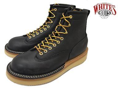 ホワイツ ノースウエスト ホワイツブーツ ブラックドム メンズ ブーツ ワークブーツ White's Boots North West 350NWCTT06 Black Dom