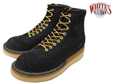 ホワイツ ノースウエスト ホワイツブーツ ブラック ラフアウト メンズ ブーツ ワークブーツ White's Boots North West 350NWCTT06 Black Roughout