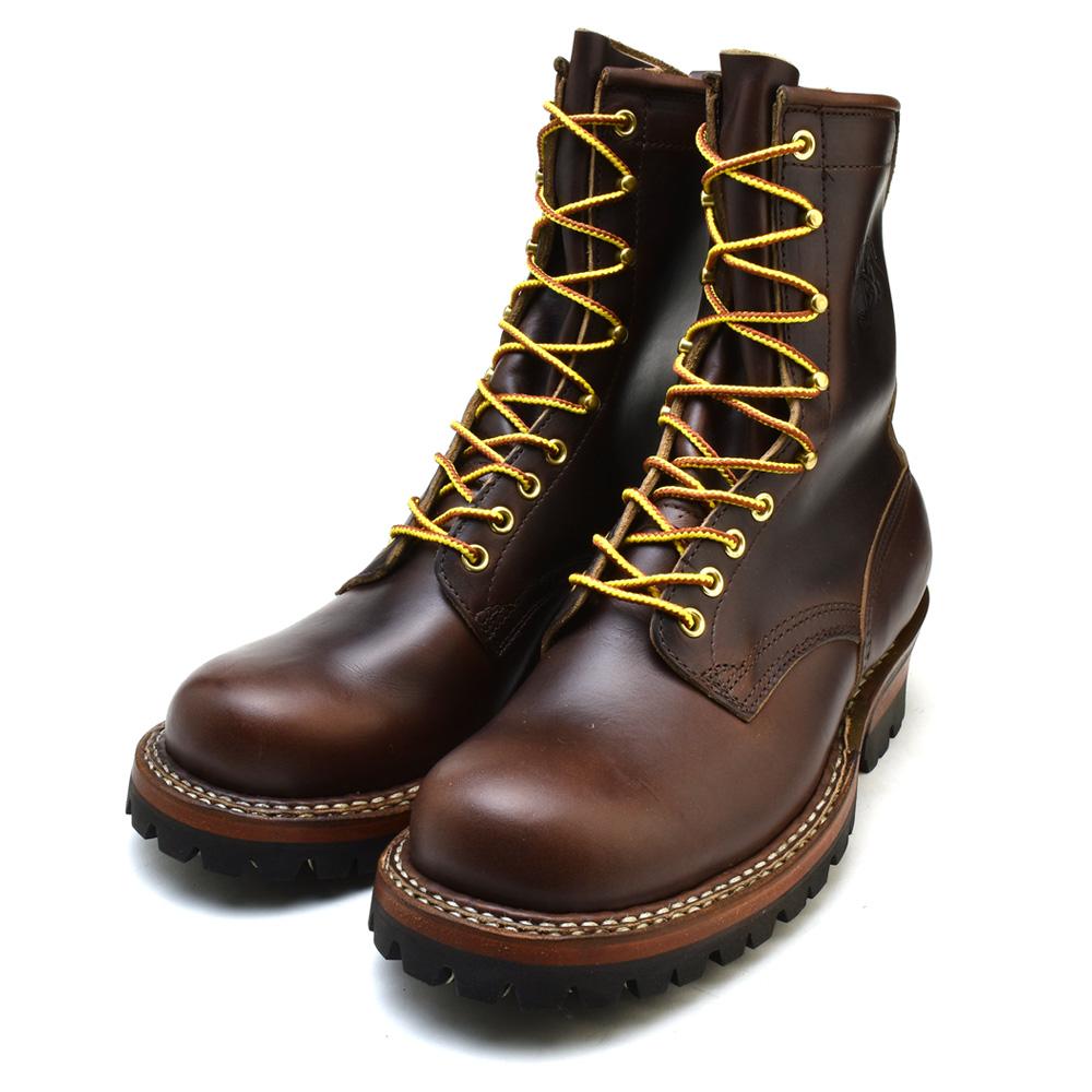 ホワイツ ホワイツブーツ スモークジャンパー 8インチ ブラウン ホーウィン クロムエクセル レギュラートゥ メンズ ブーツ ワークブーツ White's Boots Smoke Jumper 8inc 350V Brown Horween Chromexcel vibram #100