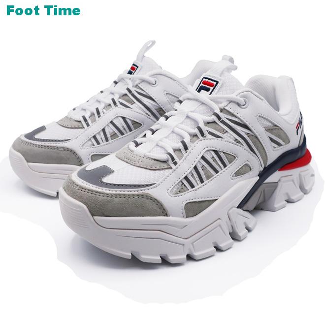 FILA Z BUFFER フィラ ゼット バッファー WHITE/NAVY/RED ホワイト/ネイビー/レッド FS1RIB3091X 靴 レディース靴 スニーカー