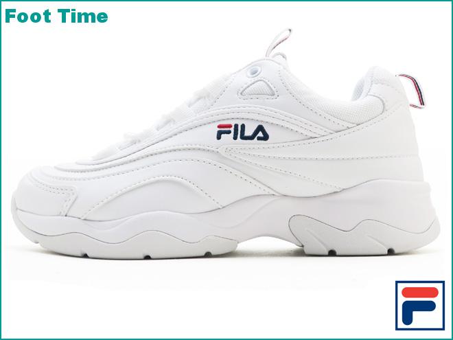 Fila Fila lei FILA FILARAY Lady's men sneakers white white WHITEWHITE FS1SIA1160X