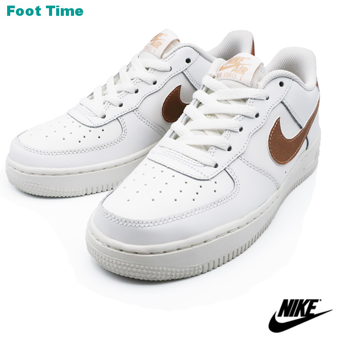 e861d2314eb247 Nike Air Force One GS NIKE AIR FORCE 1 GS summit white   metallic red  bronze SUMMIT WHITE MTLC RED BRONZE 314