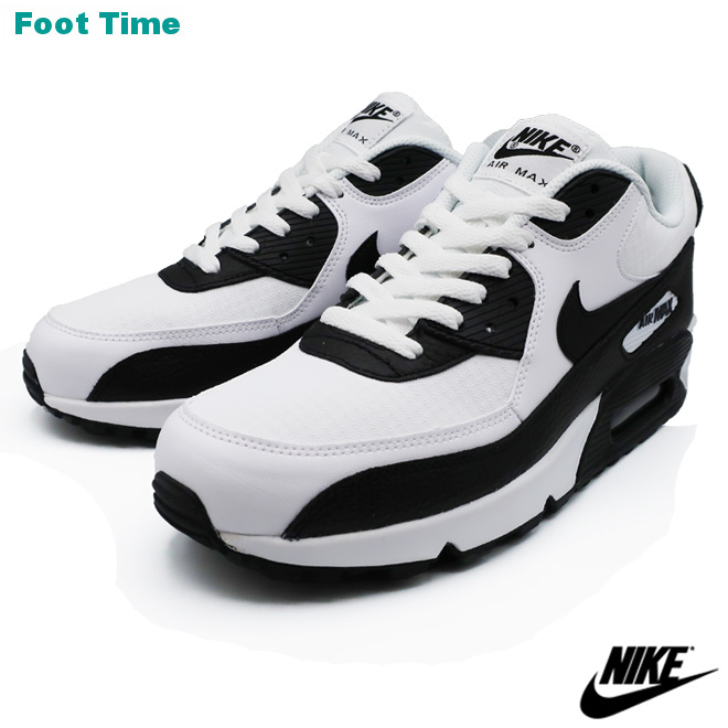 size 40 7f89b 3cebc NIKE WMNS AIR MAX 90 Nike women Air Max 90 WHITE/BLACK-BLACK-WHITE white /  black - black - white 325,213-139 men's lady's sneakers