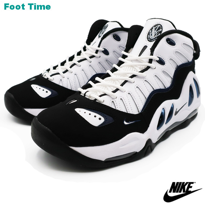 NIKE AIR MAX UPTEMPO 97 Kie Ney AMAX up tempo 97 WHITEWHITE BLACK COLLEGE NAVY white white black college navy 399,207 101 shoes men shoes