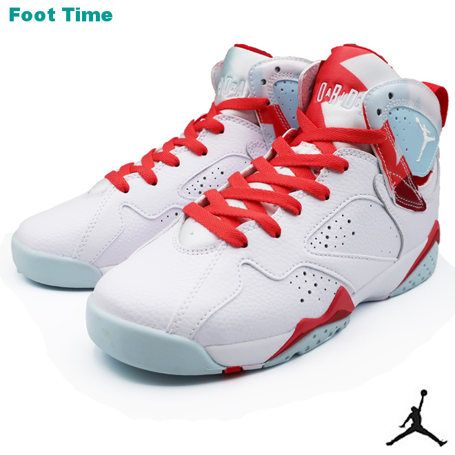 competitive price 8e6c5 ff82d NIKE AIR JORDAN 7 RETRO GS Nike Air Jordan 7 nostalgic GS WHITE/WHITE TOPAZ  MIST white / white topaz mist 442,960-104 shoes Lady's shoes youth ...