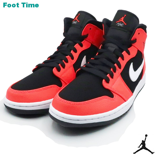 the latest 89f9b 64931 Nike Air Jordan 1 mid NIKE AIR JORDAN 1 MID men sneakers black    infrastructure red ...