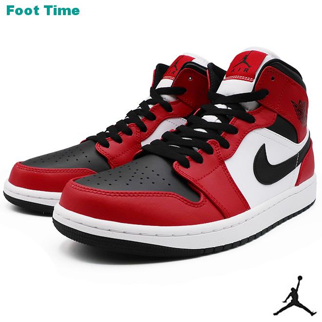 NIKE AIR JORDAN 1 MID ナイキ エア ジョーダン 1 ミッド BLACK/BLACK-GYM REDブラック/ブラック-ジムレッド  554724-069 靴 メンズ靴 スニーカー