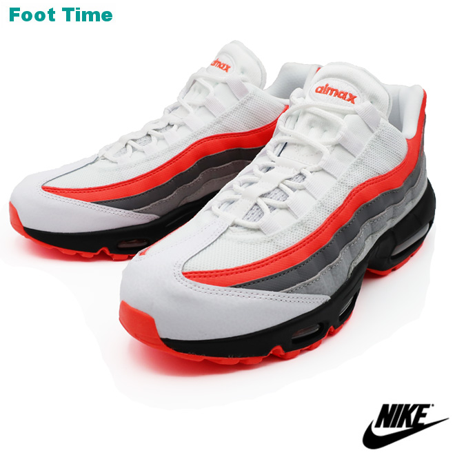 online store 9d034 ce90c Kie Ney AMAX 95 essential NIKE AIR MAX 95 ESSENTIAL men sneakers white   blight crimson - black WHITEBRIGHT CRIMSON-BLACK 749,766-112
