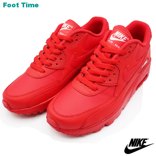 3e0f36b69f Kie Ney AMAX 90 leather GS NIKE AIR MAX 90 LTR GS university red / white ...