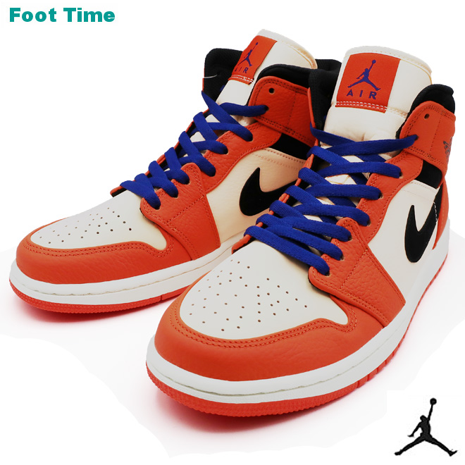Nike Air Jordan 1 mid SE NIKE AIR JORDAN 1 MID SE men sneakers team orange    black - クリムゾンティント TEAM ORANGE BLACK-CRIMSON TINT 852 c8480faa9