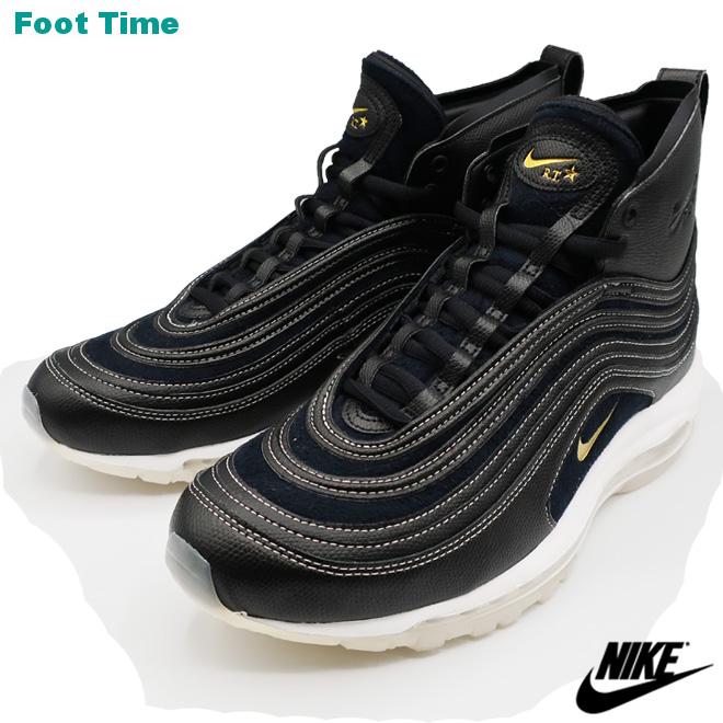 Cheap Nike Air Max 97 Black Gold On Foot