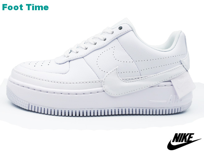newest d6be3 ade16 Nike women Air Force One Jester XX NIKE WMNS AIR FORCE 1 JESTER XX Lady s  sneakers white   white - black WHITE WHITE-BLACK AO1220-101 Lady s sneakers