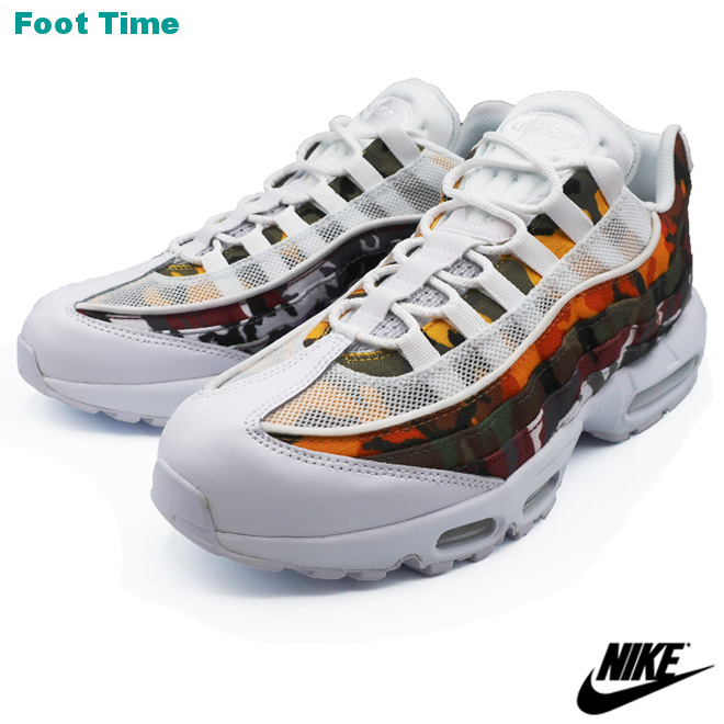brand new 6241d e3aea NIKE AIR MAX 95 ERDL PARTY Kie Ney AMAX 95 ERDL party WHITE/MULTI-COLOR  CAMO white / multicolored duck AR4473-100 shoes men shoes sneakers