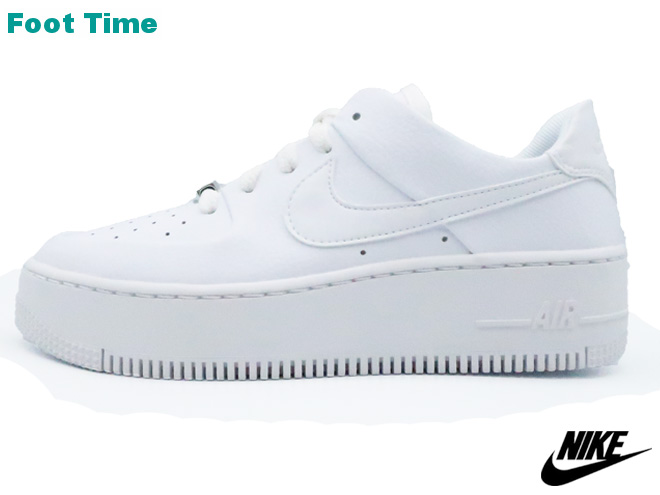 huge discount 23452 7505a Nike women Air Force One Seiji low NIKE WMNS AIR FORCE 1 SAGE LOW Lady s  sneakers white   white - white WHITE WHITE-WHITE AR5339-100 Lady s sneakers