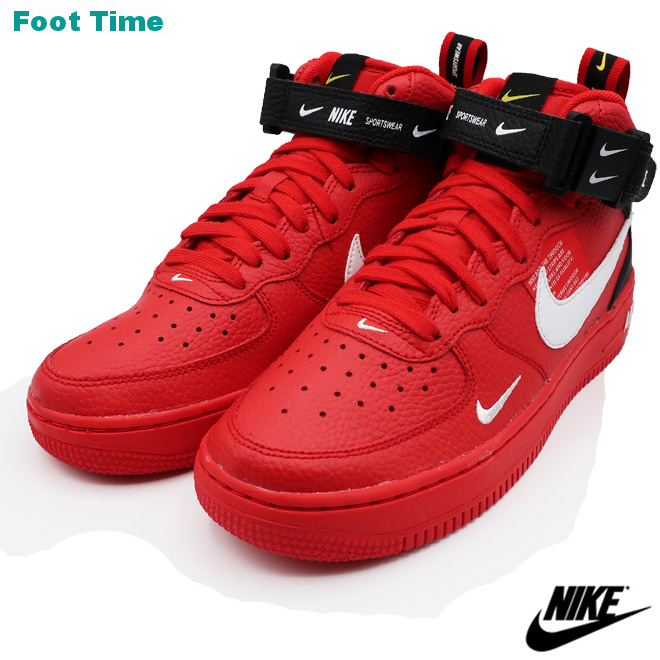 real nike air force 1 mid red fa20b 87522