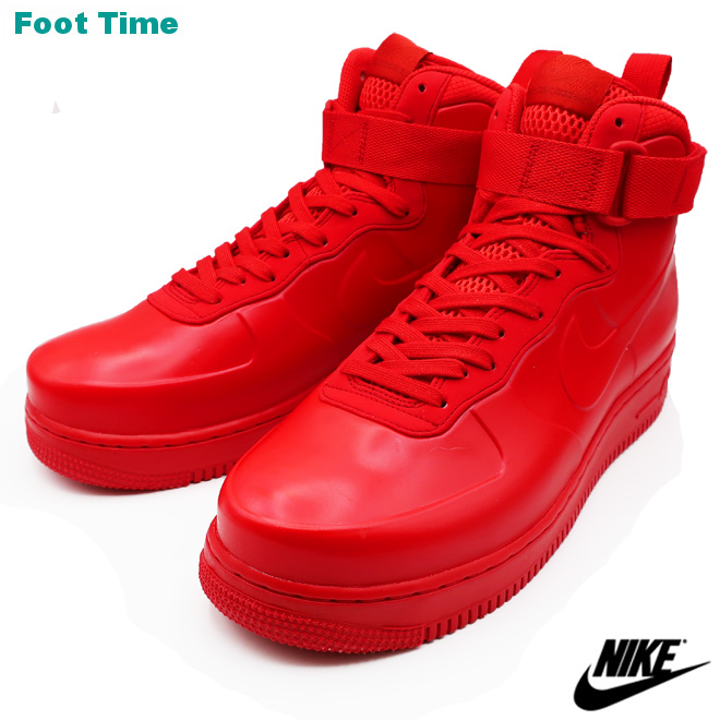 2e16be3f1 ナイキエアフォースワンフォームポジットカップ NA NIKE AIR FORCE 1 FOAMPOSITE CUP NA men sneakers  university red   university red UNIVERSITY RED UNIVERSITY ...