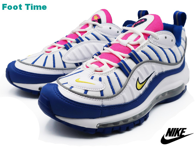 Force Shoes White Amarillo Youth Nike Bv4872 Sneakers Kie Amax Ney Lady's Max 101 Gs Indigo 98 Air Whiteamarillo D9WEY2HI