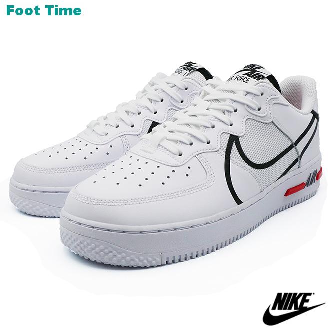 NIKE AIR FORCE 1 REACT ナイキ エア フォース ワン リアクト WHITE/BLACK-UNIVERSITY RED ホワイト/ブラック-ユニバーシティレッド CD4366-100 靴 メンズ靴 スニーカー