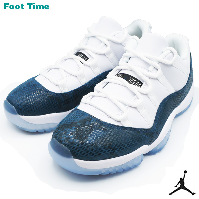 detailed look 14828 d5c16 NIKE AIR JORDAN 11 RETRO LOW LE Nike Air Jordan 11 nostalgic low LE  WHITE BLACK-NAVY white   black - navy CD6846-102 men shoes sneakers