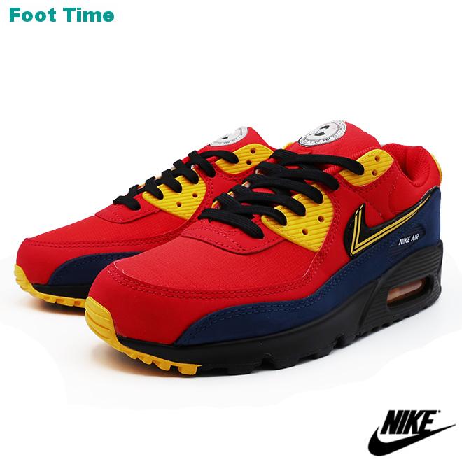 NIKE AIR MAX 90 PREMIUM ナイキ エア マックス 90 プレミアム UNIVERSITY RED/BLACK ユニヴァーシティレッド/ブラック CJ1794-600 靴 メンズ靴 スニーカー