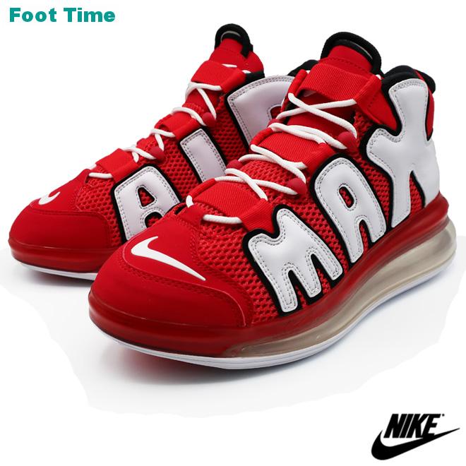 NIKE AIR MORE UPTEMPO 720 QS 2 Nike air more up tempo 720 QS 2 UNIVERSITY  RED/WHITE-BLACK university red / white - black men shoes sneakers CJ3662-600