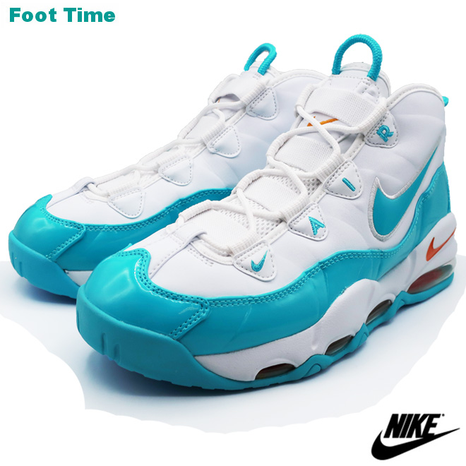 NIKE AIR MAX UPTEMPO '95 Kie Ney AMAX up tempo '95 WHITEBLUE FURY CANYON GOLD white ブルーフューリー canyon gold CK0892 100 shoes men shoes sneakers