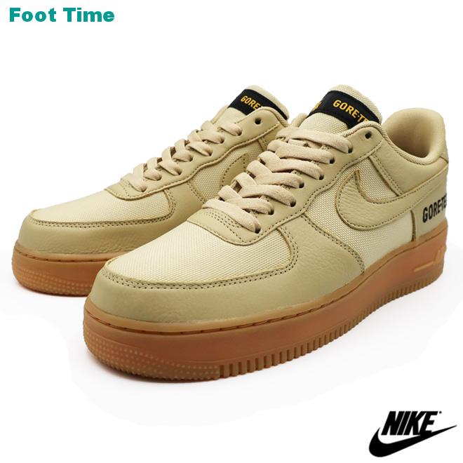 NIKE AIR FORCE 1 GTX ナイキ エア フォース ワン GTX TEAM GOLD/KHAKI-GOLD-BLACK チームゴールド/カーキ-ゴールド-ブラック CK2630-700 靴 メンズ靴 スニーカー
