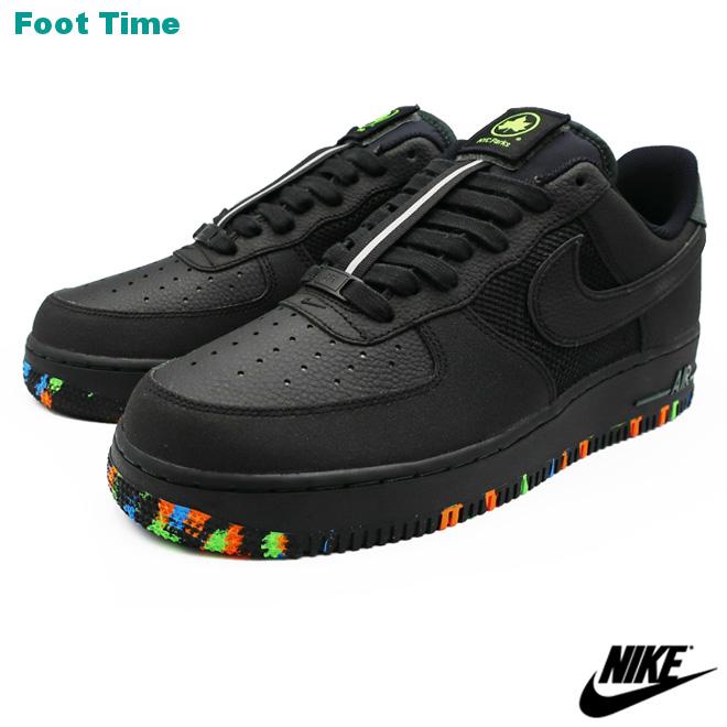 NIKE AIR FORCE 1 '07 PRM ナイキ エア フォース ワン '07 プレミアム BLACK/BLACK-ACTION GREEN ブラック/ブラック-アクショングリーン CT1518-001 靴 メンズ靴 スニーカー