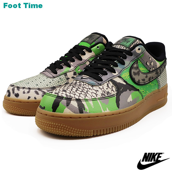 NIKE AIR FORCE 1 '07 QS ナイキ エア フォース ワン '07 QS BLACK/BLACK-GREEN SPARK ブラック/ブラック-グリーンスパーク CT8441-002 靴 メンズ靴 スニーカー