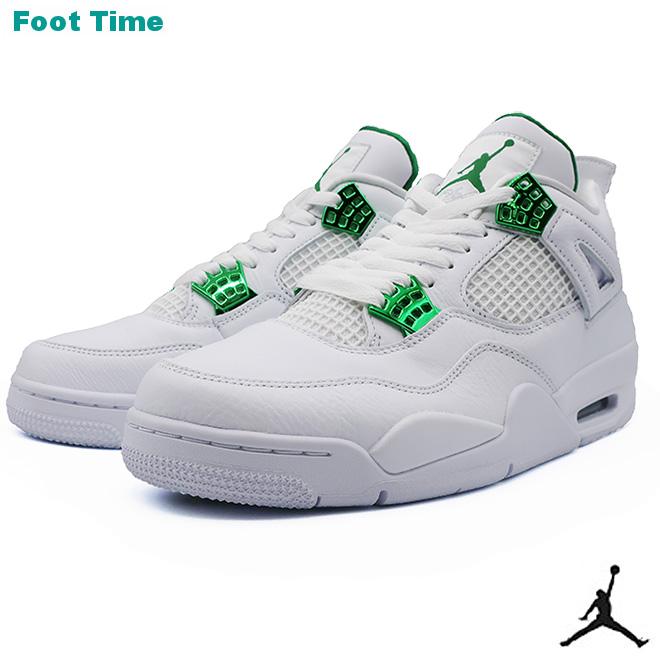 NIKE AIR JORDAN 4 RETROナイキ エア ジョーダン 4 レトロ WHITE/PINE GREEN ホワイト/パイングリーン CT8527-113 靴 メンズ靴 スニーカー