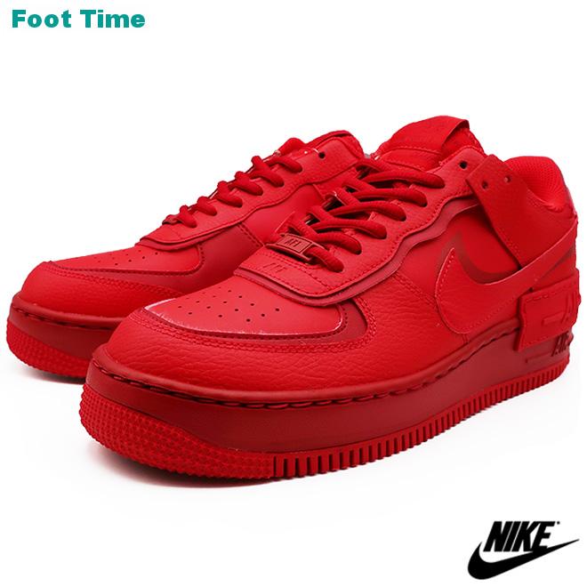 NIKE WMNS AF1 SHADOW ナイキ ウィメンズ エア フォース ワン シャドー  UNIVERSITY RED/GYM RED-SAIL ユニバーシティレッド/ジムレッド-セイル CU3012-661 靴 メンズ靴 レディース靴 スニーカー