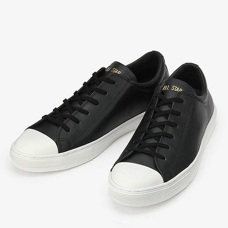 CONVERSE ALL STAR COUPE LEATHER OX コンバース オールスター クップ レザー OX  BLACK ブラック 31300291 靴 メンズ靴 レディース靴 スニーカー