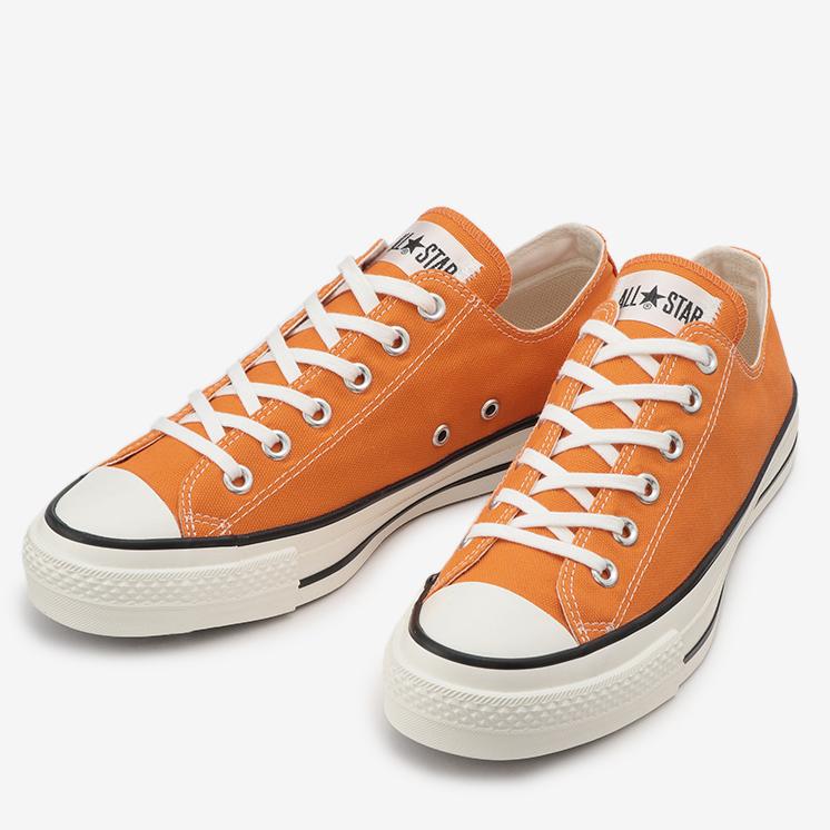 CONVERSE CANVAS ALL STAR J OX コンバース キャンバス オールスター J オックスフォード  ORANGE オレンジ 31301650 靴 メンズ靴 スニーカー