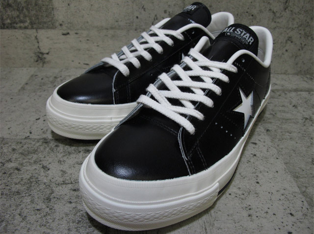 CONVERSE ONE STAR J OX【コンバース ワンスター J OX】BLACK/WHITE 32346511