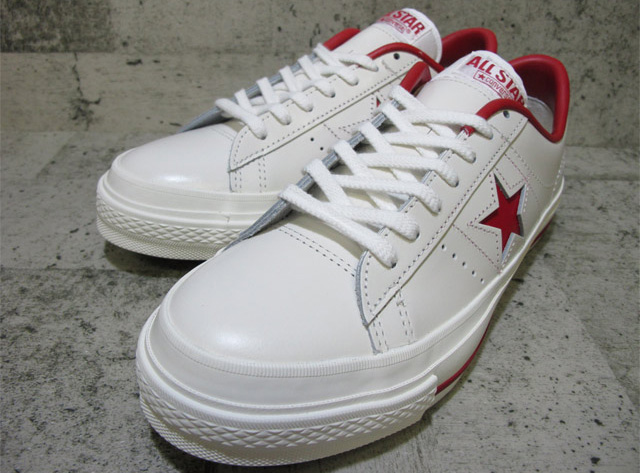 コンバース ワンスター J OX CONVERSE ONE STAR J OX WHITE/RED 32346512fs04gm