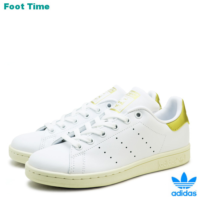 super popular 0b5b6 d96a6 Adidas originals Stan Smith adidas Originals STAN SMITH white / gold  WHITE/GOLD AQ0439 men gap Dis sneakers