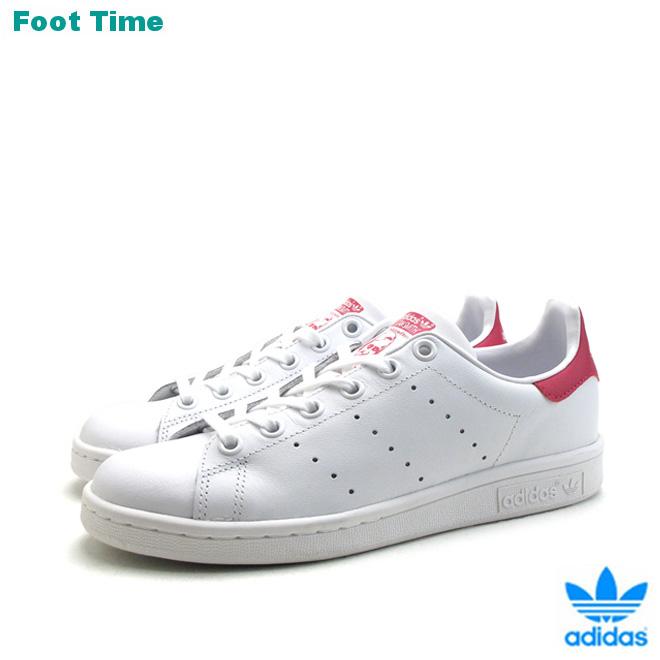 quality design bebea 9ca88 Adidas Stan Smith J adidas STAN SMITH J white / pink WHITE/PINK B32703  Womens sneakers