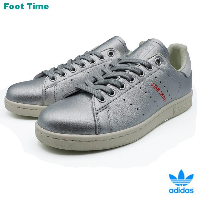 adidas Originals STAN SMITH W アディダス オリジナルス スタンスミス W SILVMT/SILVMT/BLUTIN シルバー/シルバー/ブルーティント B41750 靴 レディース靴 スニーカー