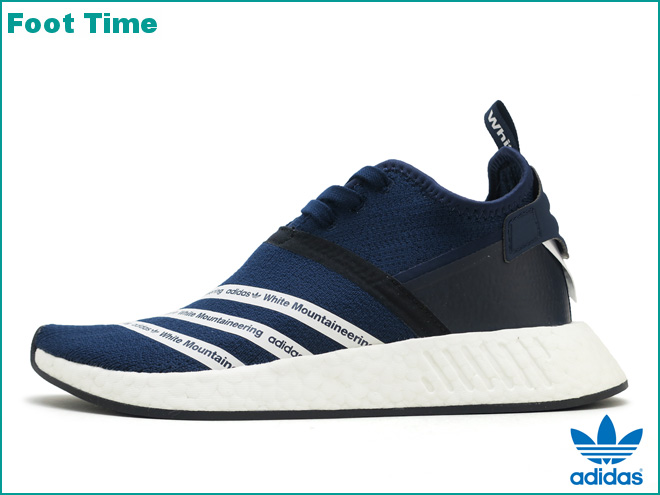 01c9fd140 Adidas originals WM N M D R2 PK adidas ORIGINALS WM NMD R2 PK by White  Mountaineering college navy   running white   running white COLLEGIATE  NAVY RUNNING ...