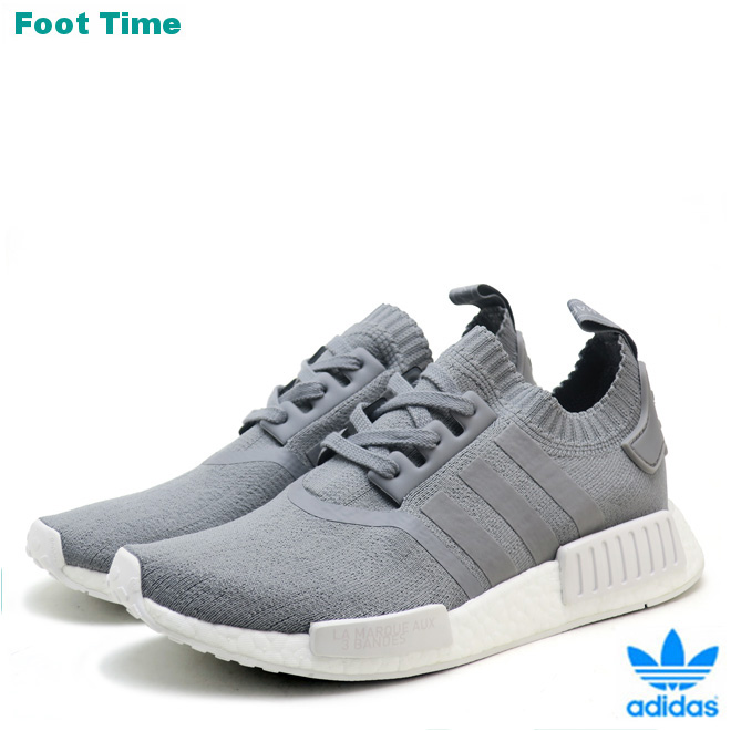 official photos ca333 50148 Adidas originals N M D R1 PK W adidas ORIGINALS NMD R1 PK W gray / gray /  white GREY/GREY/WHT BY8762 men gap Dis sneakers