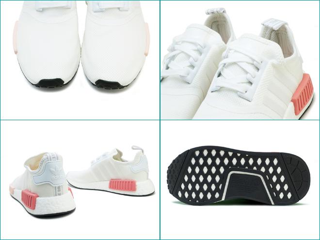 1f1527ff31b17 Adidas originals N M D R1 W adidas ORIGINALS NMD R1 W running white    running white   I see. pink RUNNING WHITE RUNNING WHITE ICEY PINK BY9952  Lady s ...