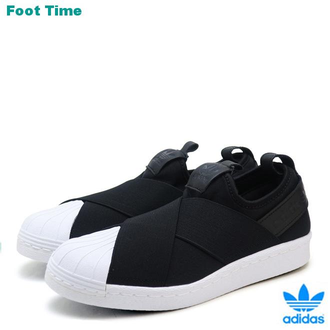 brand new d9d59 15f41 Adidas superstar slip-ons adidas SUPERSTAR SLIPON core black  core black  core  black CORE BLACKCORE BLACKCORE BLACK BZ0112 Ladys sneakers