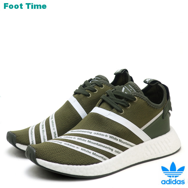 19a842342 Adidas originals WM N M D R2 PK adidas ORIGINALS WM NMD R2 PK by White  Mountaineering trace olive   running white TRACE OLIVE RUNNING WHT CG3649  men ...